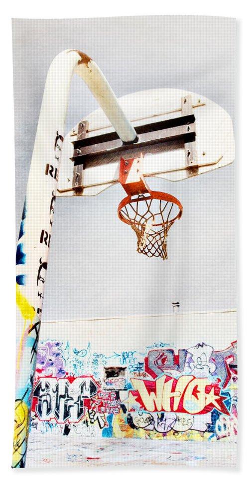Basketball Bath Sheet featuring the photograph March 23 2010 by Tara Turner