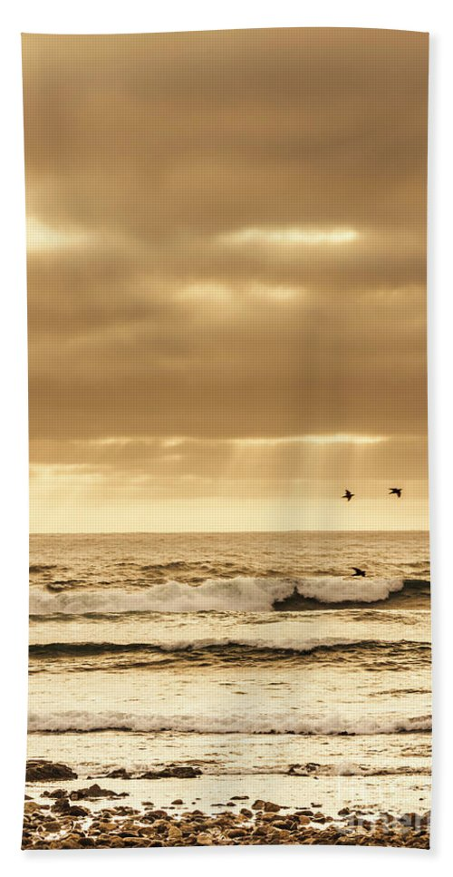 Sea Hand Towel featuring the photograph Marine Dream by Jorgo Photography - Wall Art Gallery