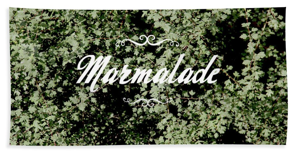 Hand Towel featuring the photograph Marmalade by Kalyj