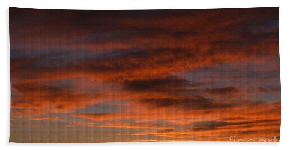 Africa Bath Sheet featuring the photograph Masai Mara Sunset by Sandra Bronstein