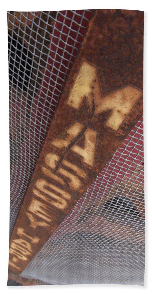 Massey Harris Hand Towel featuring the photograph Masey Harris by Jeffery Ball