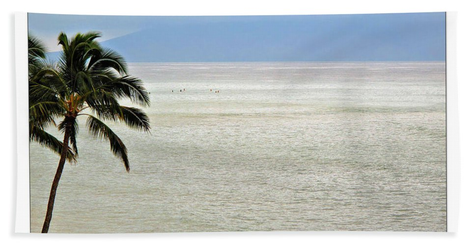 Beach Hand Towel featuring the photograph Maui Tropics by Joan Minchak