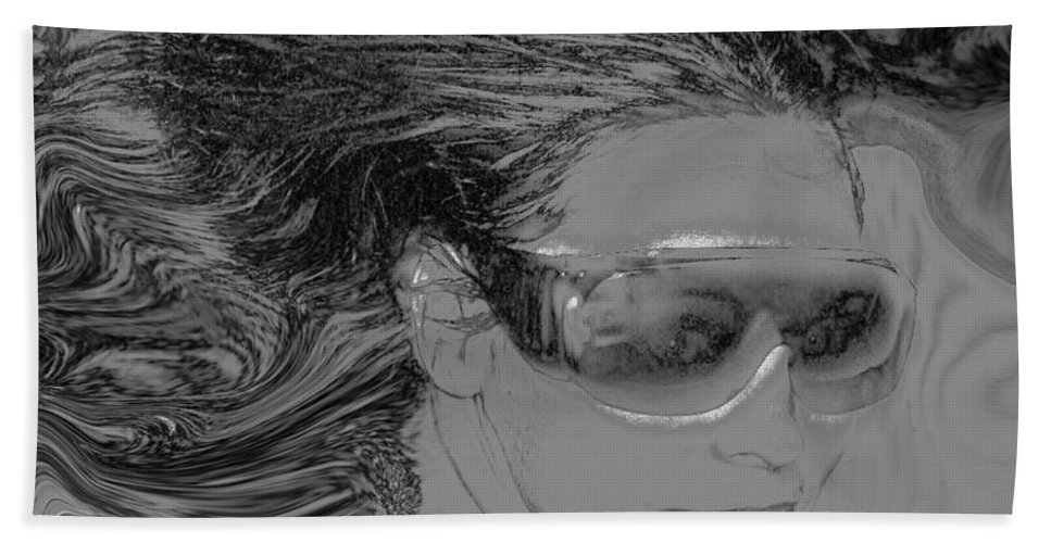 Me Bath Towel featuring the photograph Me by Linda Sannuti