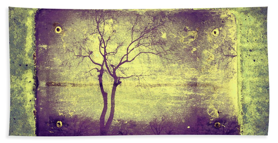 Horizon Hand Towel featuring the photograph Memories Like Trees by Tara Turner