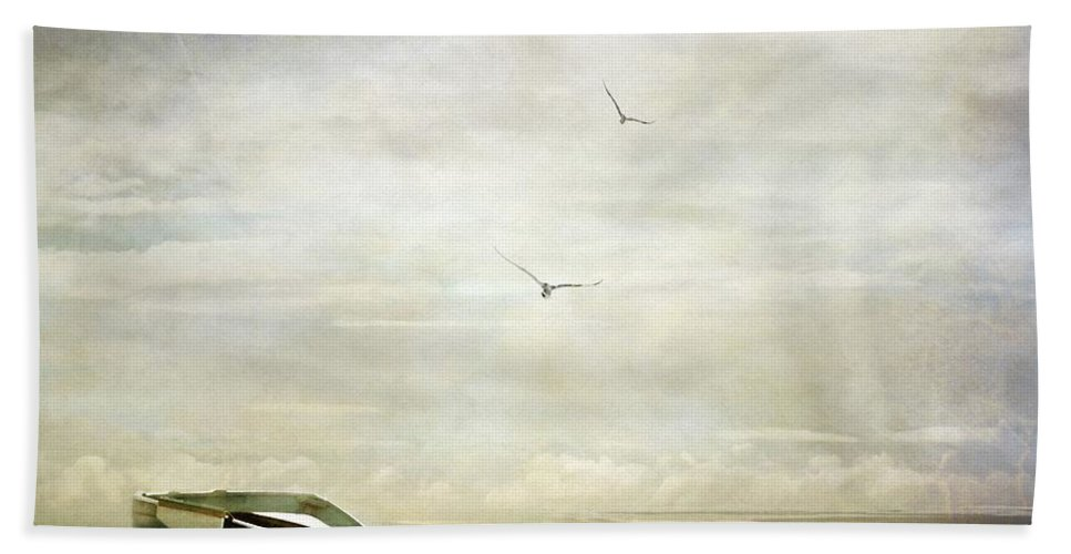 Beach Hand Towel featuring the photograph Memories by Jacky Gerritsen