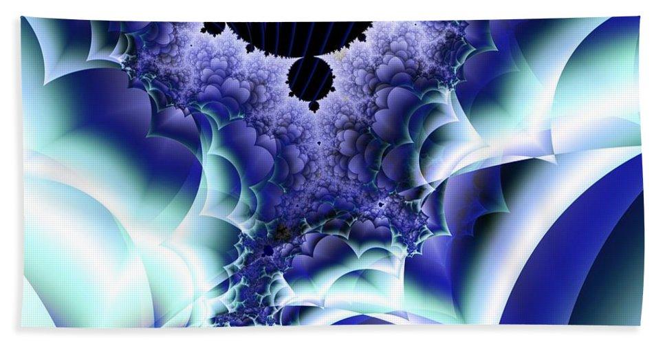 Menthol Bath Sheet featuring the digital art Menthols by Ron Bissett