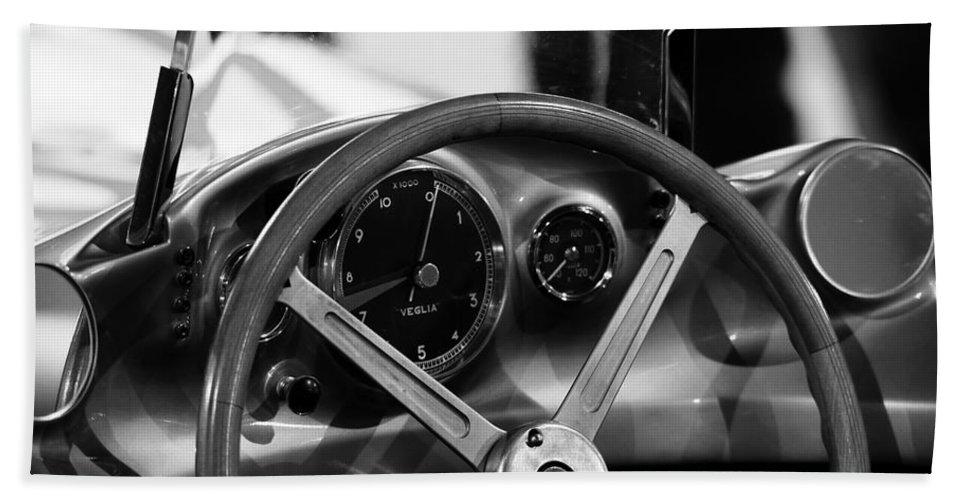 Mercedes Benz Hand Towel featuring the photograph Mercedes Benz Streamliner by Robert Phelan