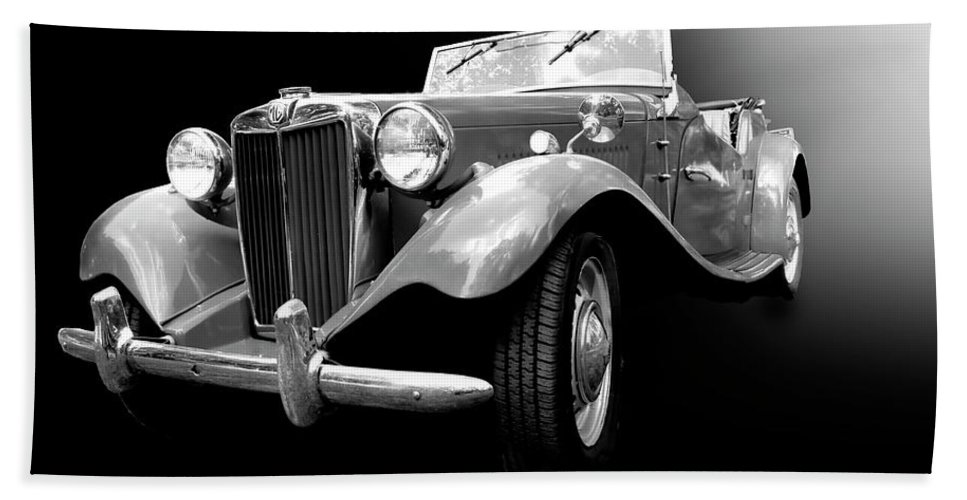 1950s Hand Towel featuring the photograph Mg-td by Dick Goodman