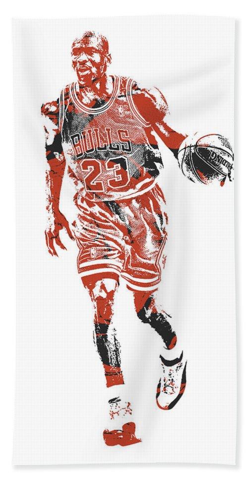 e0426ce651d Michael Jordan Chicago Bulls Pixel Art 30 Bath Towel for Sale by Joe  Hamilton