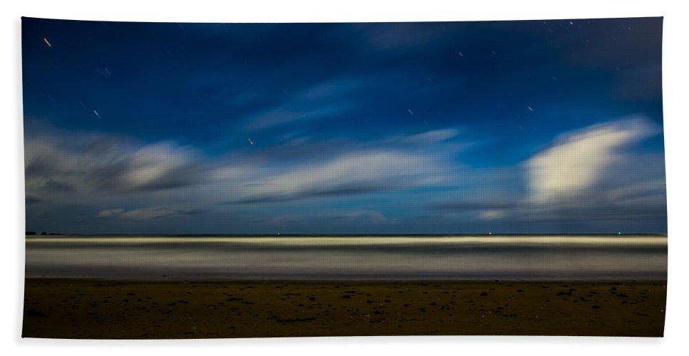 Hand Towel featuring the photograph Midnight Bastendorff by Angus Hooper Iii