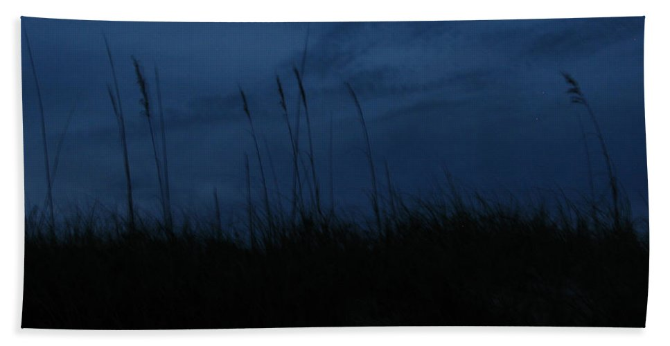 Hand Towel featuring the photograph Midnight Motion 2 by Stacey May