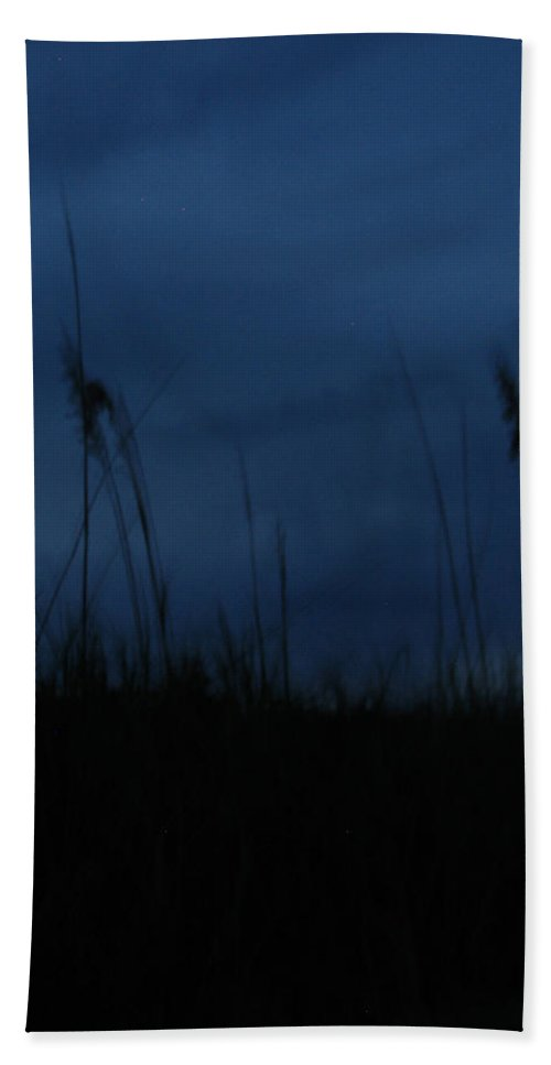 Dusk Hand Towel featuring the photograph Midnight Motion by Stacey May
