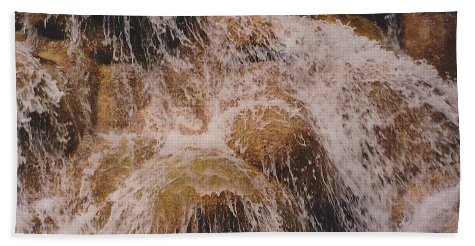 Water Hand Towel featuring the photograph Milky Way by Michelle Powell