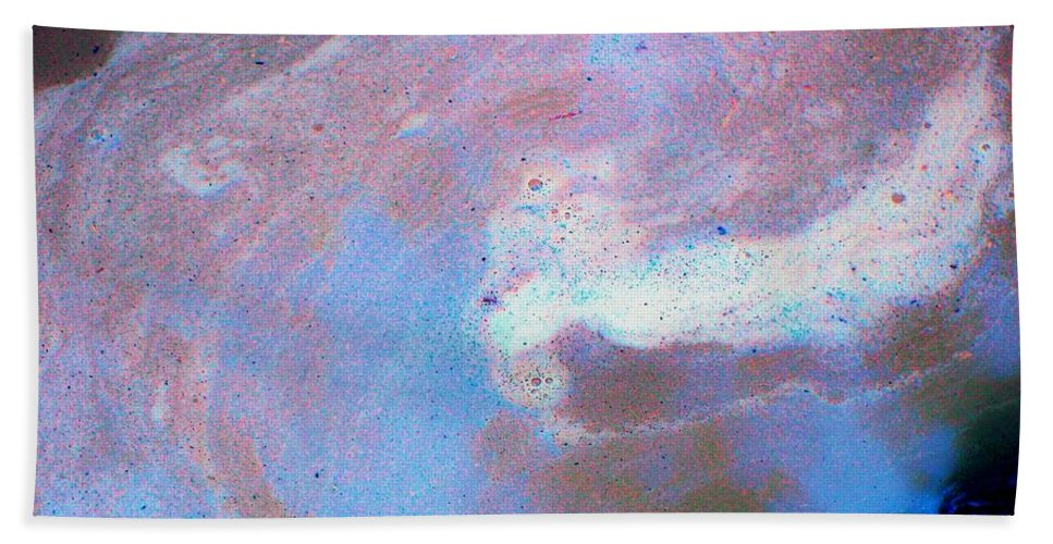 Abstract Bath Sheet featuring the photograph Mind Bender by Betty Northcutt
