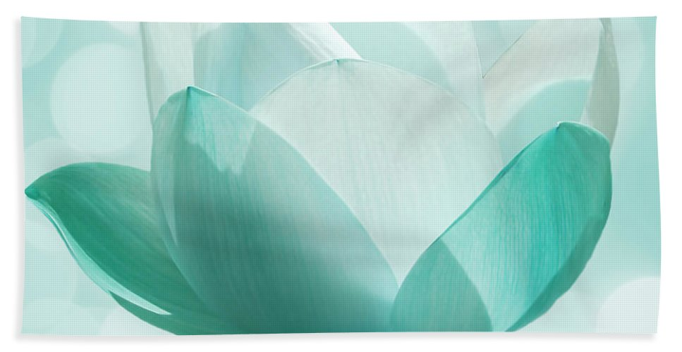 Lotus Hand Towel featuring the photograph Mint by Jacky Gerritsen