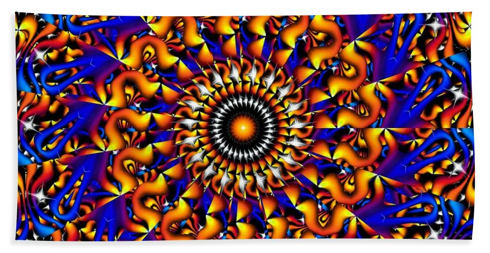 Design Hand Towel featuring the digital art Miracles In Motion by Robert Orinski