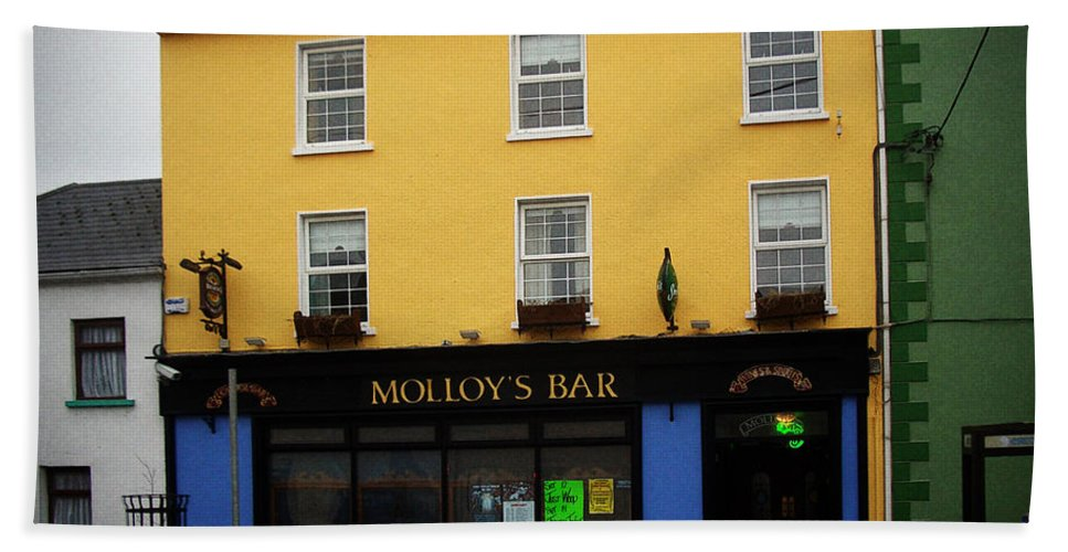 Pub Bath Sheet featuring the photograph Molloy by Tim Nyberg