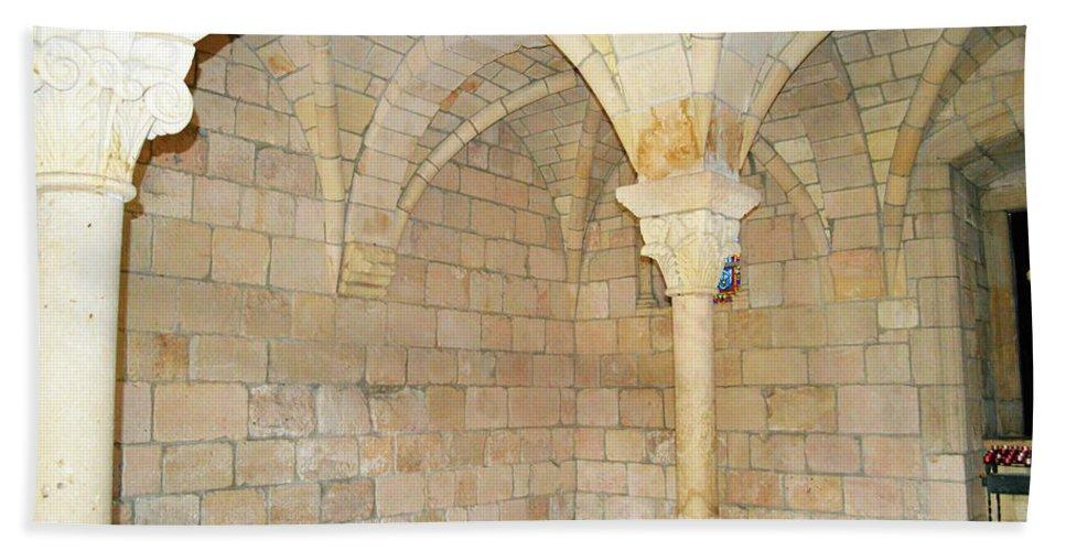 Miami Bath Sheet featuring the photograph Monastery Of St. Bernard De Clairvaux 3 by Ken Figurski