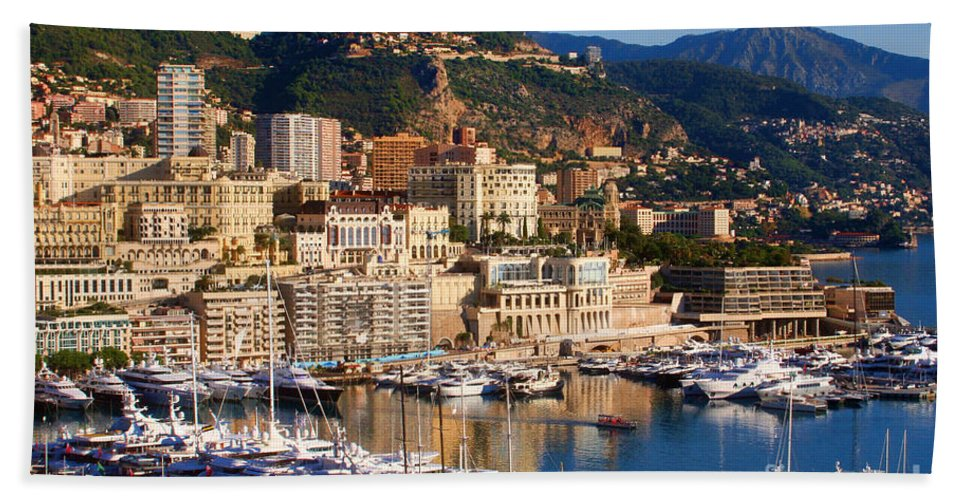 Europe Photograph Hand Towel featuring the photograph Monte Carlo by Tom Prendergast