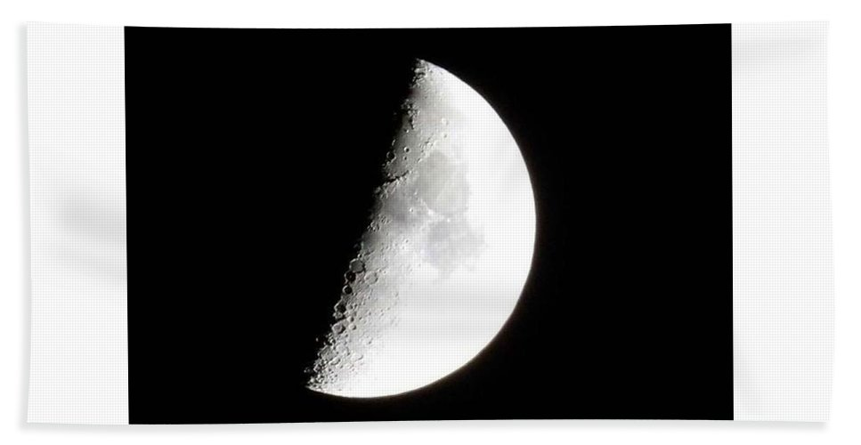Bath Sheet featuring the photograph Moon by Kerry Drew