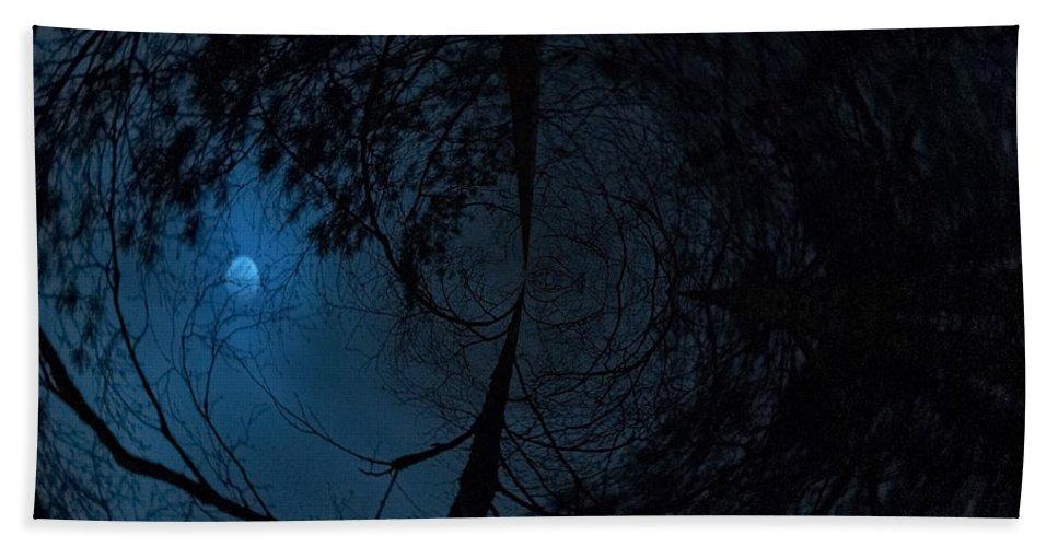 Lehtokukka Hand Towel featuring the photograph Moonshine 15 Fishy by Jouko Lehto