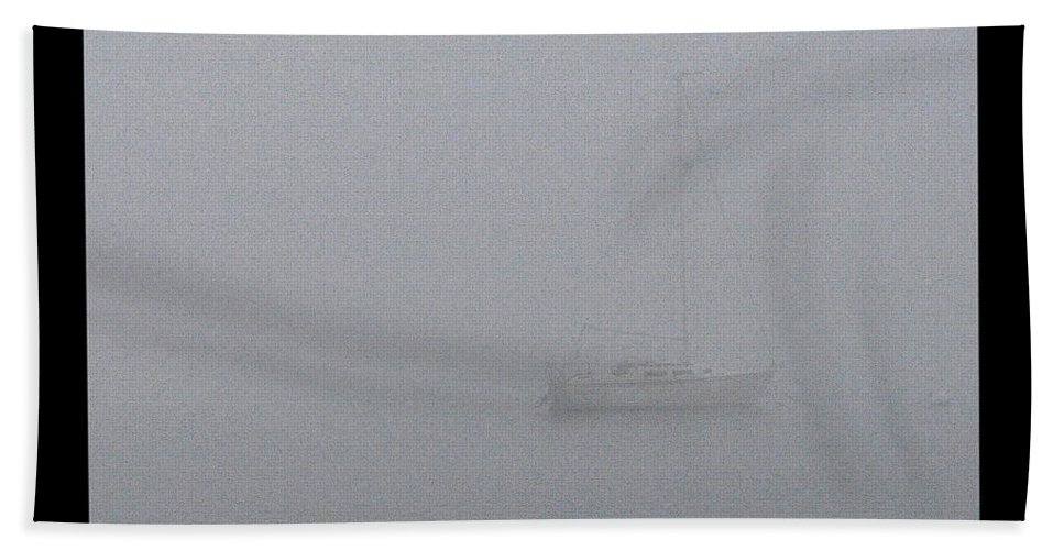 Moored Bath Sheet featuring the photograph Moored by Tim Nyberg