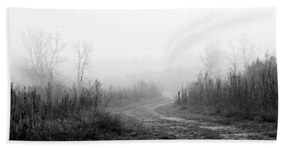 Fog Hand Towel featuring the photograph Morning Fog by Gary Richards