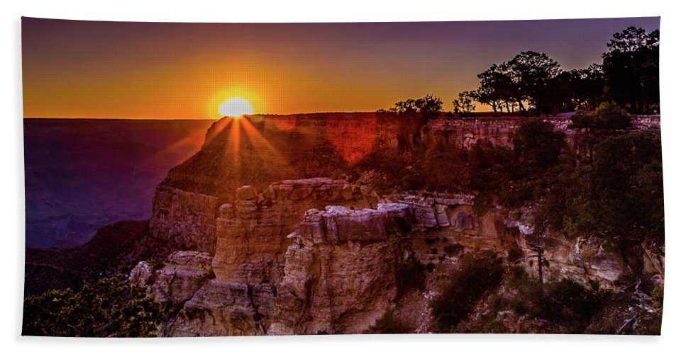 Grand Canyon Bath Sheet featuring the photograph Morning Has Broken by Lisa Lemmons-Powers