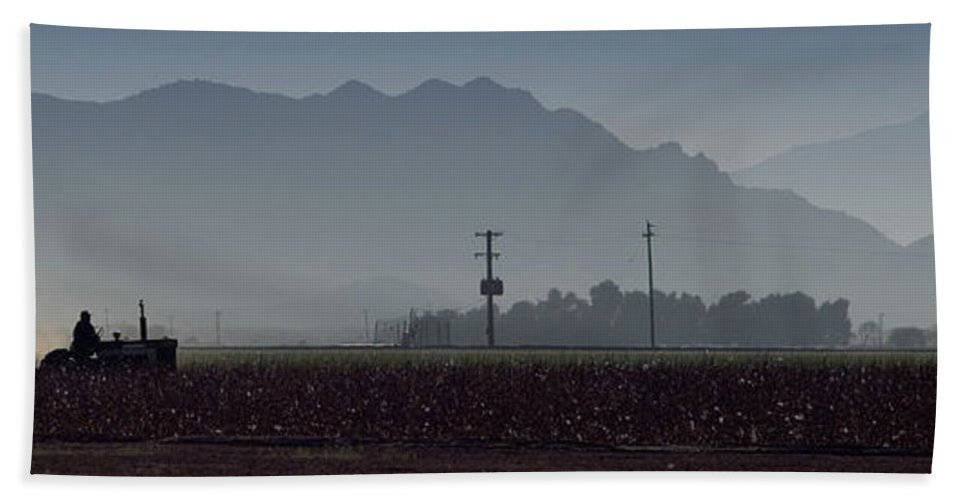Farm Bath Sheet featuring the photograph Morning On The Farm by Scott Sawyer