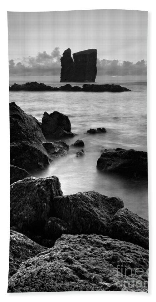 Azoren Bath Sheet featuring the photograph Mosteiros Islets by Gaspar Avila