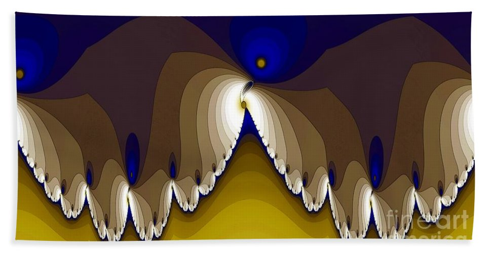 Moth Bath Sheet featuring the digital art Moth by Ron Bissett