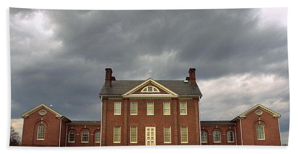 Baltimore Md Bath Sheet featuring the photograph Mount Clare Mansion by Joseph Skompski