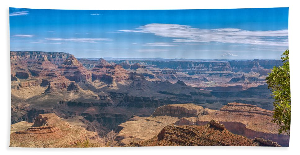 Landscape Bath Sheet featuring the photograph Mountains Below The Surface by John M Bailey