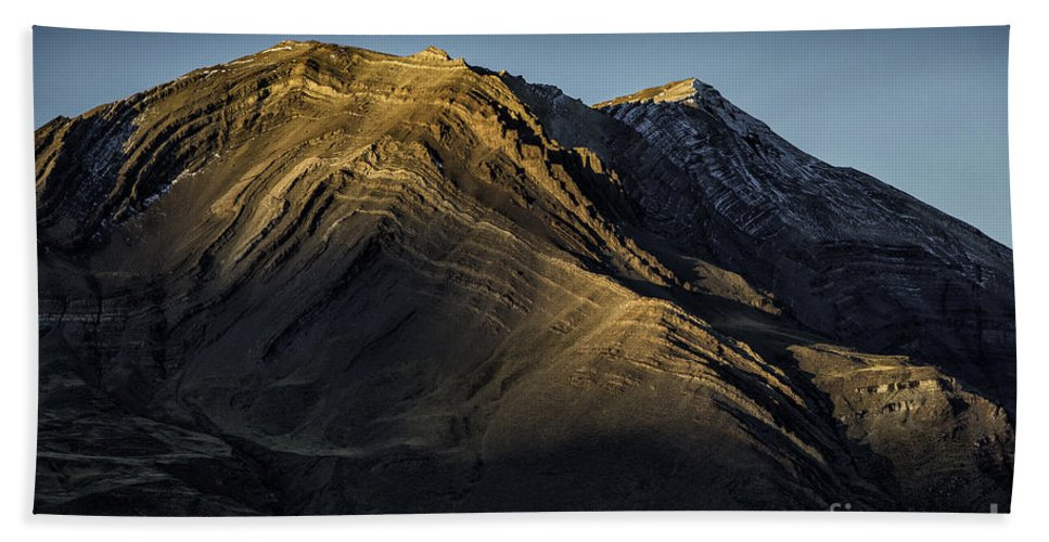 Patagonia Hand Towel featuring the photograph Mountains In Argentina by Timothy Hacker