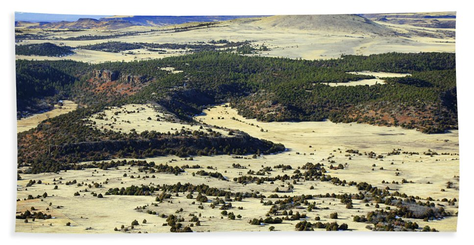 Mt. Capulin New Mexico Bath Sheet featuring the photograph Mt. Capulin New Mexico by Marilyn Hunt