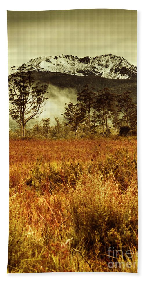 Forest Bath Towel featuring the photograph Mt Gell. Tasmania National Park Of Franklin Gordon by Jorgo Photography - Wall Art Gallery