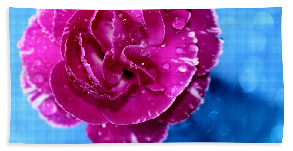 Carnation Bath Towel featuring the photograph Much Love by Krissy Katsimbras