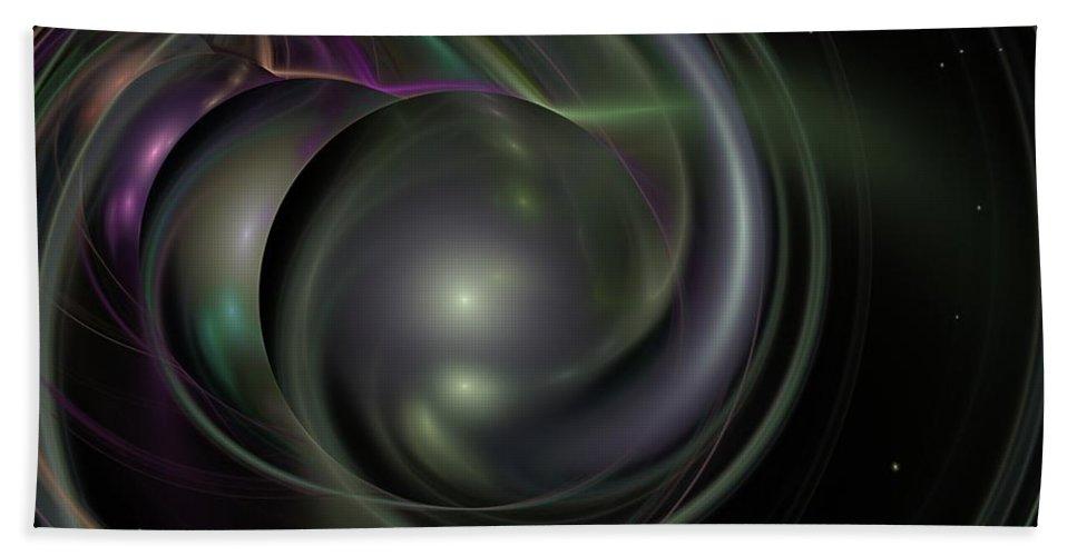 Fantasy Bath Towel featuring the digital art Multiverse by David Lane