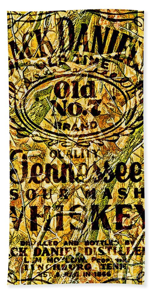 Jack Daniels Hand Towel featuring the photograph My Buddy Jack by Tommy Anderson