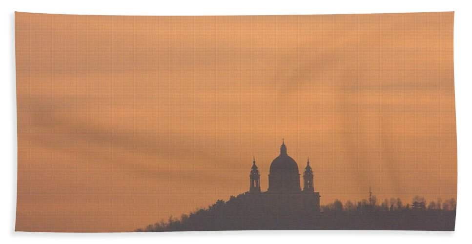 Superga Hand Towel featuring the photograph Mystic Dawn by Riccardo Forte