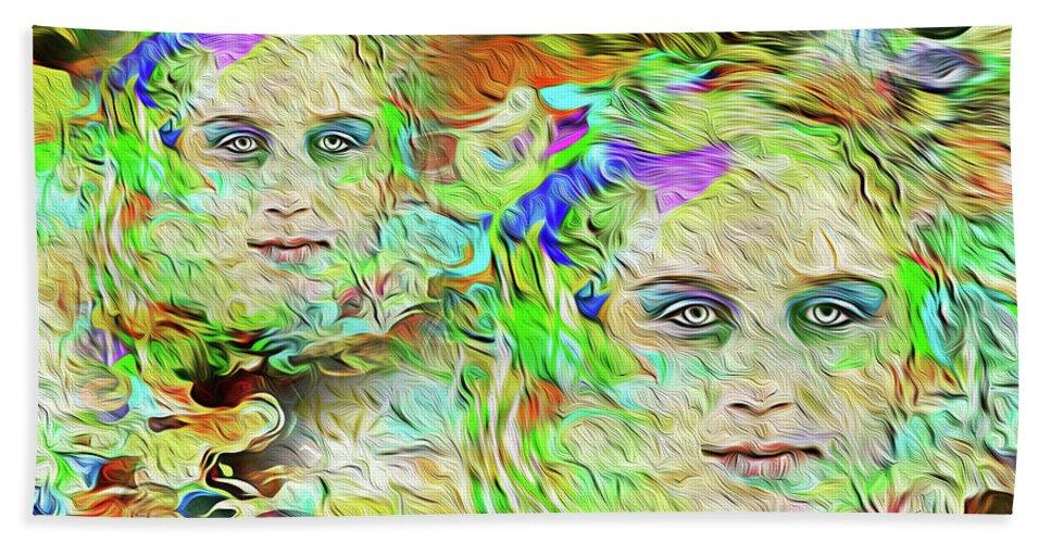 Acrylic Bath Sheet featuring the photograph Mystical Eyes by Reynaldo Williams