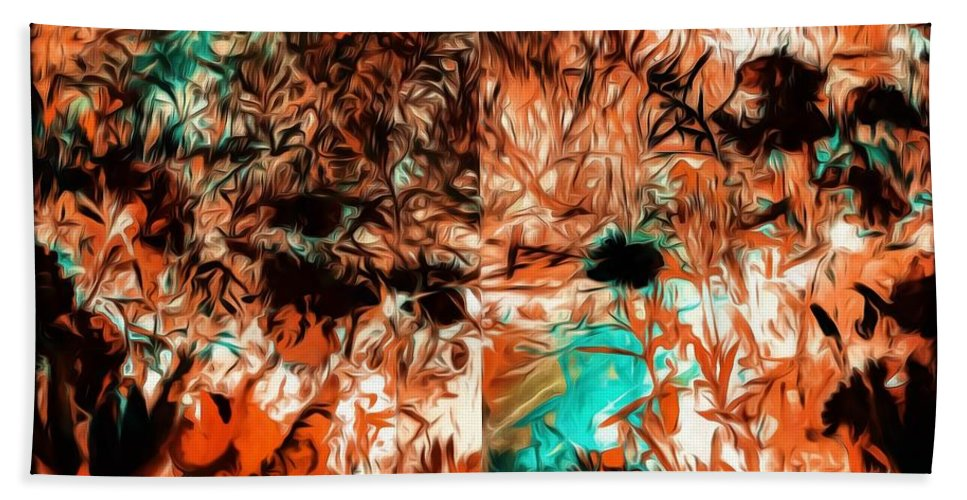 Nature Bath Sheet featuring the photograph Natural Abstract by Debra Lynch