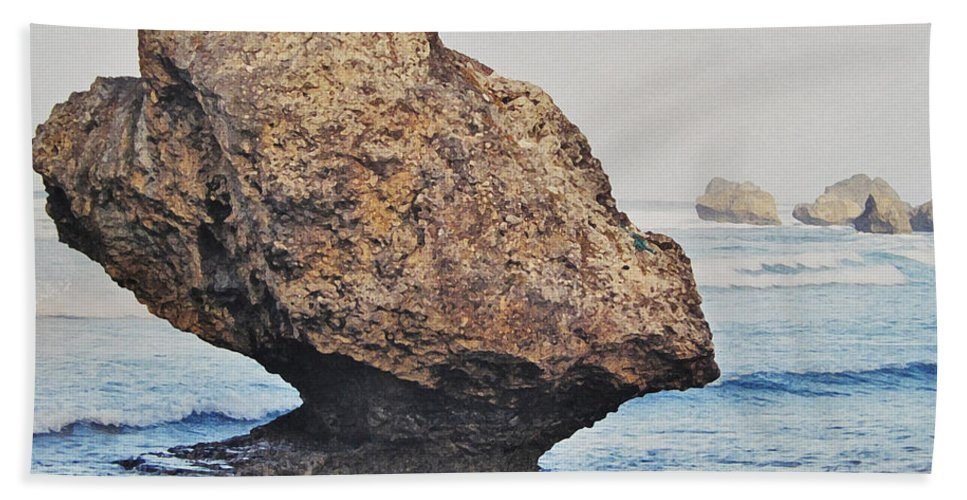 Barbados Bath Sheet featuring the photograph Natural by Ian MacDonald