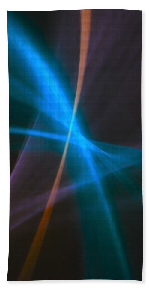 Abstract Hand Towel featuring the photograph Natural Light03 by Svetlana Sewell