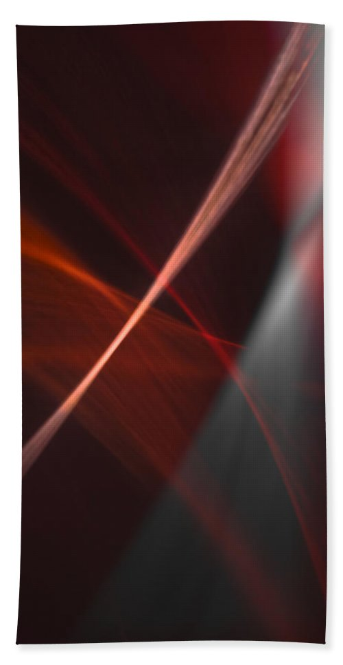 Abstract Hand Towel featuring the photograph Natural Light04 by Svetlana Sewell