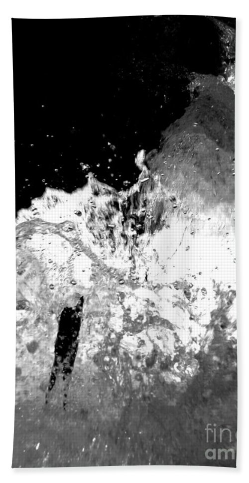Water Bath Towel featuring the photograph Natural Power by Amanda Barcon