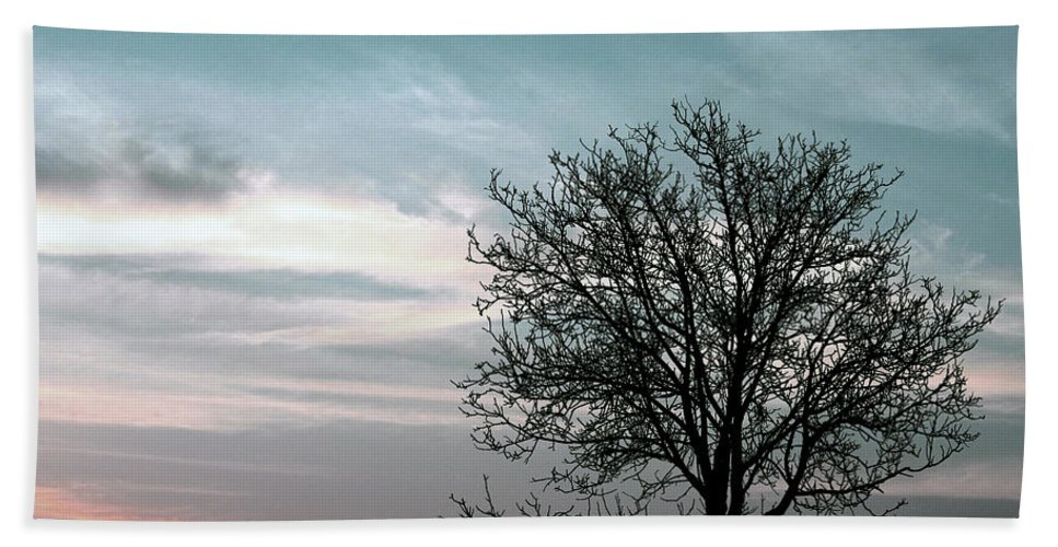 Nature Hand Towel featuring the photograph Nature - Early Sunrise by Munir Alawi