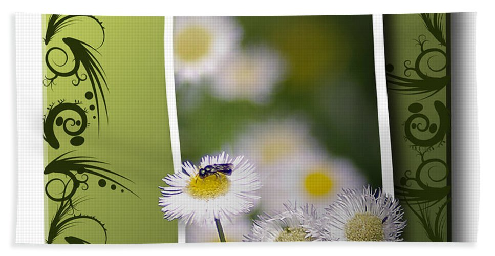 2d Bath Sheet featuring the photograph Nature Bug by Brian Wallace