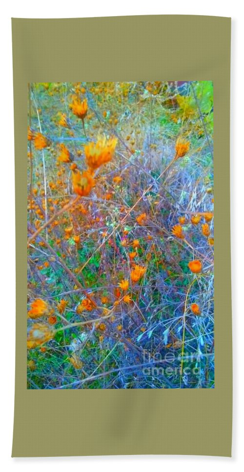 Hand Towel featuring the photograph Nature Surprise by Alexandra Felecan