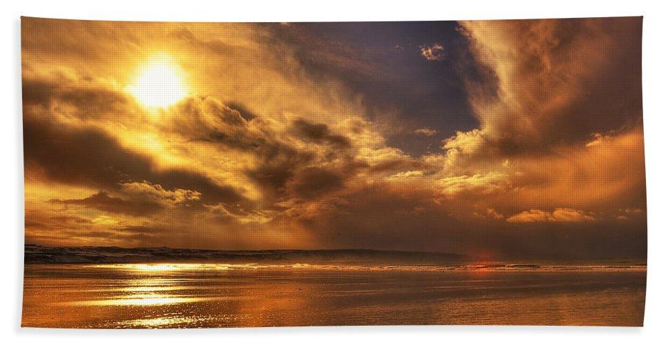 Beach Bath Sheet featuring the photograph Nature Wonders by Svetlana Sewell
